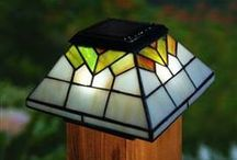 Classy Caps / Did you know you can illuminate your yard with solar lights on your fence posts? Check out some of our popular post caps below.