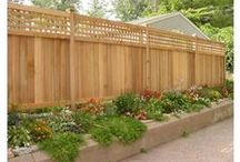 Privacy Fences / Wish your fence provided you with more privacy? Check out some of our privacy fence materials and inserts here!