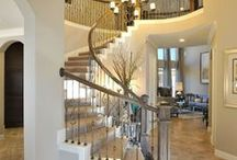 Entrance / Foyer / Stairs / by Brittany