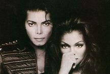 Michael and Janet Jackson!