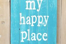 My Happy Place / A board filled with all the things that make me happy!  / by Cindy Meadows-Lannan