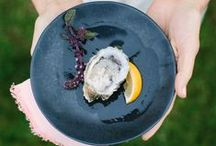 """Crate & Barrel """"Oysters & Rose"""" / Oyster lunch with Crate & Barrel and 100 Layer Cake!"""