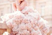 Farbige Brautkleider | Hochzeitskleid bunt