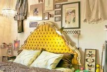Eclectic Teen Girl's Room Inspiration / by Michele Daharsh
