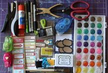 Art Supplies / by Alexa vonNordeck