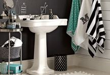 Bubbles and baths / Guest and kids bathrooms. / by Nissa-Lynn Interiors