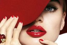 Scarlet Red /  It stirs the blood and stimulates the heart. / by Helen .