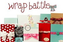 "2012 {Wrap Battle} Entries / ""The Wrap Battle is an annual contest with fabulous prizes for the best business packaging and presentation (holiday and/or ""every day"") – this year our first place prize winner alone will receive over $4150 in prizes and merchandise!""  -PaperieBoutique.com"