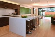 East Balmain - kitchen renovation, NSW / Architect: Robert Harwood. Fine joinery: Rodney Grant