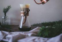 coffee, tea + breakfast