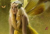 Mermaids, Fairies And More / Fairies l Mermaids l Beautiful l Fantasy l Lovely l Fictional l Fairy Photos l Mermaid Photos