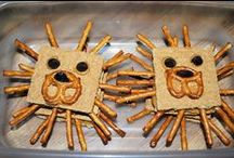 Snacks and food fun projects / by puppet friends