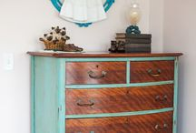 Furniture // Madeover / Paint   Repurpose   Upcycle  / by Sasha Madden