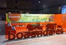 """Diseño Stand para """" BOAONDA """" Septiembre 2013 / Stand realizado para la Empresa """" BOAONDA"""" en la Feria Internacional de la Moda y el Calzado MOMAD 2013 en el Recinto Ferial de Madrid IFEMA en Septiembre 2013"""