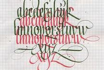 calligraphy / by Liene Miķelsone