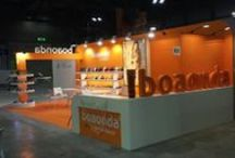 """Diseño Stand para """" BOAONDA """" Agosto 2014 / Stand realizado para la Empresa brasileña """" BOAONDA"""" en la Feria Internacional del Calzado MICAM 2014 en el Recinto Ferial de Milan  en Agosto 2014."""