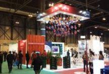 """Diseño Stand para """"EURO POOL SYSTEM"""" 2014 / Stand realizado para la Empresa """"EURO POOL SYSTEM"""" en la Feria FRUIT ATTRACTION 2014 en el Recinto Ferial de Madrid IFEMA en Octubre 2014."""
