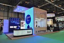 """Diseño Stand """" GULI ILUMINACION"""" / Stand para la Empresa GULI ILUMINACION en el Salón Internacional de Soluciones para la Industria Eléctrica y Electrónica MATELEC en el Recinto Ferial de Ifema en Madrid en Octubre 2014."""