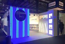 """Diseño Stand """" GULI ILUMINACION """"    Milán / Stand para la Empresa GULI ILUMINACION en el Salón Internacional de la Iluminación en el Recinto Ferial de Milán ( Italia ) en Abril 2015."""