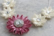 Unique Handmade Jewelry and Wedding Flowers / Find unique wedding flowers, bridesmaid jewelry, bridal shower corsages, earrings, statement necklaces, wrist corsages and more!