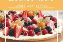 Funksjonell Mat / Sukkerfrie og sunne oppskrifter fra Funksjonell Mat