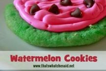 Food- Cookie Recipes / I love baking cookies, especially at Christmas time, so here's a spot for great cookie recipes. So bar cookies, sugar cookies, cake cookies, any type of cookie for any occasion. bake to your hearts delight. / by 3 Quarters Today (Dawn Romine)