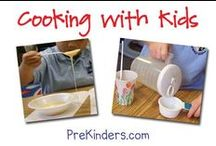 Food -- Cooking with Kids / Snack ideas for the little ones