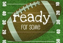 Football Crafts & Snacks / Foods, and crafty ideas for home and tailgaters alike!