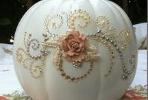 Gourd Decorations / Latest trend.....gourd decor / by Shelly Daniels