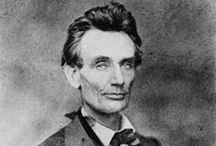 Lincoln and an American Tragedy / Abraham Lincoln,  my favorite President, Historical figure of all time.  He saved the union by sacrificing his all. / by A.C.C