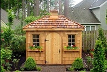 GARDEN SHEDS & GREENHOUSES / by Bree Ramsey