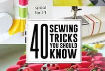 Sewing Tips & Patterns / Free sewing patterns, tutorials, tips and tricks. / by Beth {Printcess}