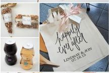 Wedding Welcome Gift Bags / Wedding Out of Towner Gift Bags and Welcome Bags to make your close long-distance guests feel welcome!