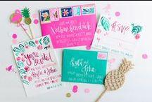 wedding inspiration // invitations