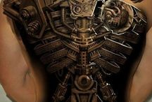 Tattoos and body art / Old school - New school