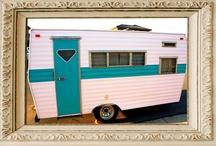 vintage campers / Vintage trailer photos and other vintage inspiration. / by Bargain Hoot.com = DIY crafts