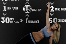 get fit or get out / by Caroline Carter