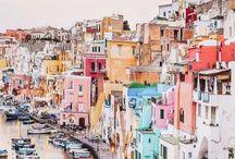 color fest / bright, pastel colors