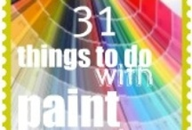 paint chip / by Bargain Hoot.com = DIY crafts