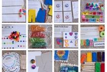 Preschool and Kindergarten activities / by Rochelle Crabb Pentico