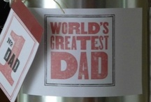 Father's Day Gifts and celebration ideas / by Bargain Hoot.com = DIY crafts