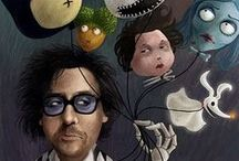 """Pin Burton / This board is all about Tim Burton's brilliant mind that has given inspiration to so many artists :)))....""""Now, you've probably wondered where holidays come from. If you haven't, I'd say it's time you begun."""""""