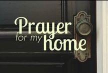 PRAYER / Prayer. Praising, Thanking, Asking, interceding.