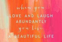 Simple Abundance  / The 6 principles according to Sarah Ban Breathnach
