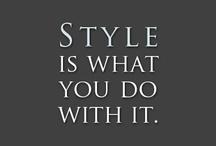 Fashion / all things fashion / by Ally Evangelista