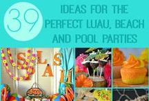 Party Ideas / All kinds of birthday party ideas!  Plus, Christmas, Easter, Valentine's Day and all the other holidays!