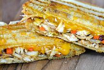 Recipes - Grilled Cheese Sandwich