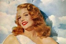 Rita Hayworth / by Kate Marcel