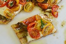 Recipes - Pizza / Americas favorite food!  Perfect for family night and game day.  Pizza...you can add almost anything to it.  Sweet or savory it is the perfect dish!