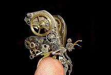 Steampunk art,jewelry,clothing,etc / Just weird enough to be my style. No not really but I do like. Not sure how people come up with these ideas but I am glad they do. / by Shannon Beaupre